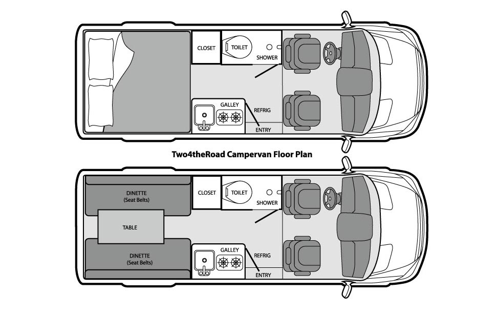 Two4theRoad Campervan