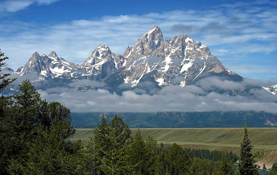 Grand Teton National Park located in scenic Jackson Hole, WY.