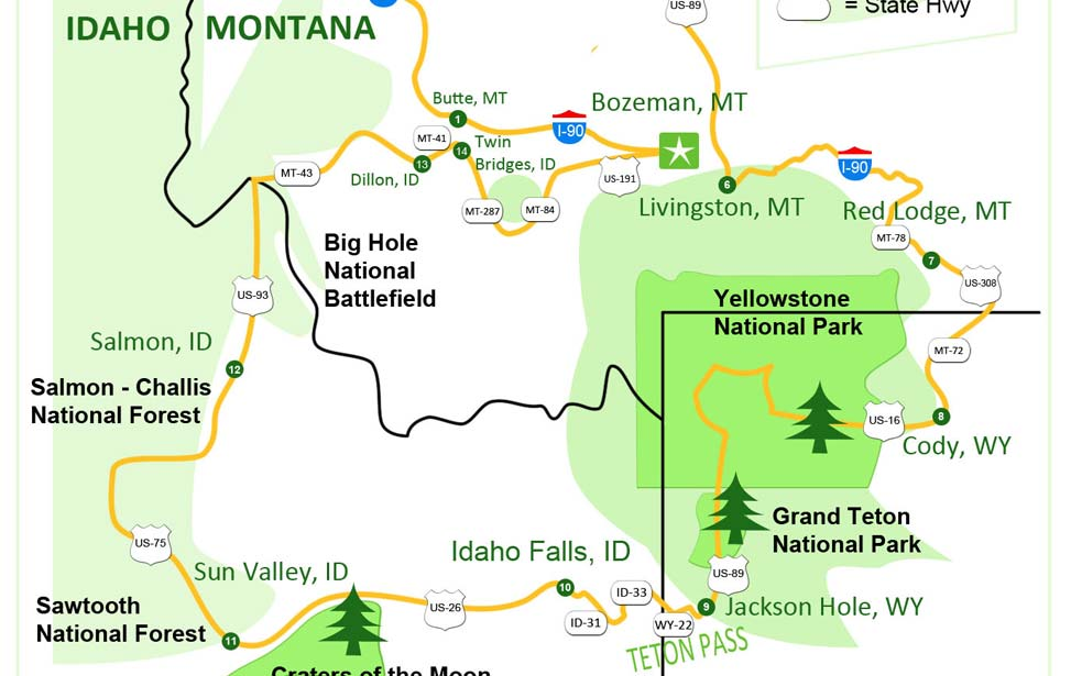 The grandaddy of national park tours