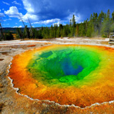 Yellowstone mineral pool