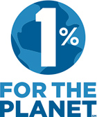 Nous soutenons 1% for the Planet