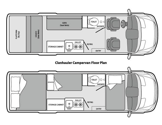 pics photos sprinter camper floor plans
